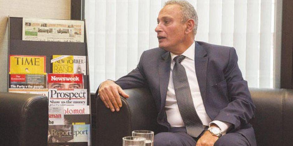 سفير مصر في بريطانيا: فخور بالإقبال الكثيف للمصريين بالانتخابات الرئاسية