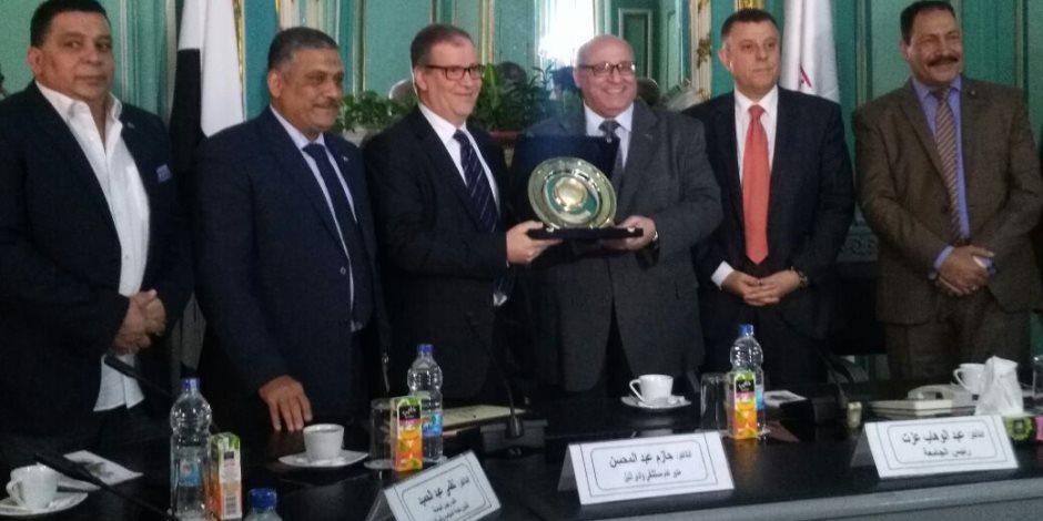اتفاقية تعاون بين جامعة عين شمس و مستشفى وادي النيل