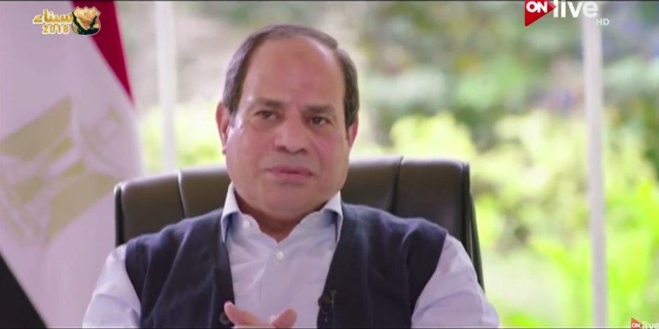 ماذا قال الرئيس السيسي عن عبد الناصر والسادات ومبارك؟ (فيديو)