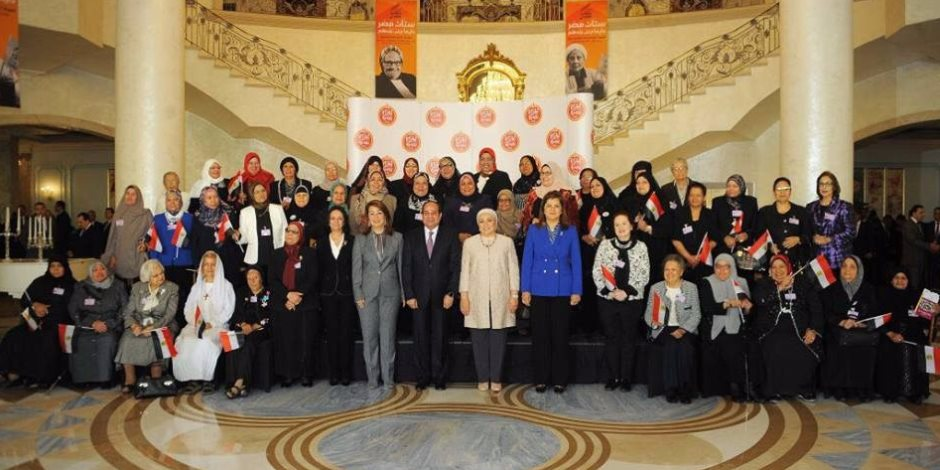وزيرة التخطيط: المرأة هي حجر الزاوية وركيزة الاستقرار السياسي للدولة