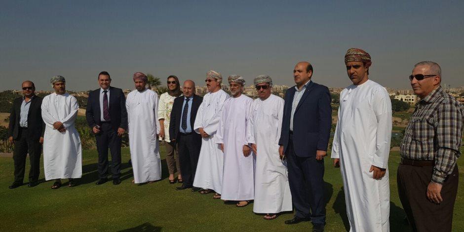 وزير إسكان سلطنة عمان يتفقد مدينة القاهرة الجديدة (صور)