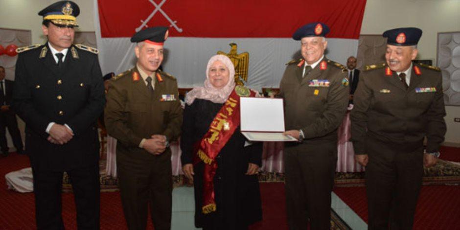 احتفالية القوات المسلحة بالأم والأب المثاليين وتكريم أسر الشهداء
