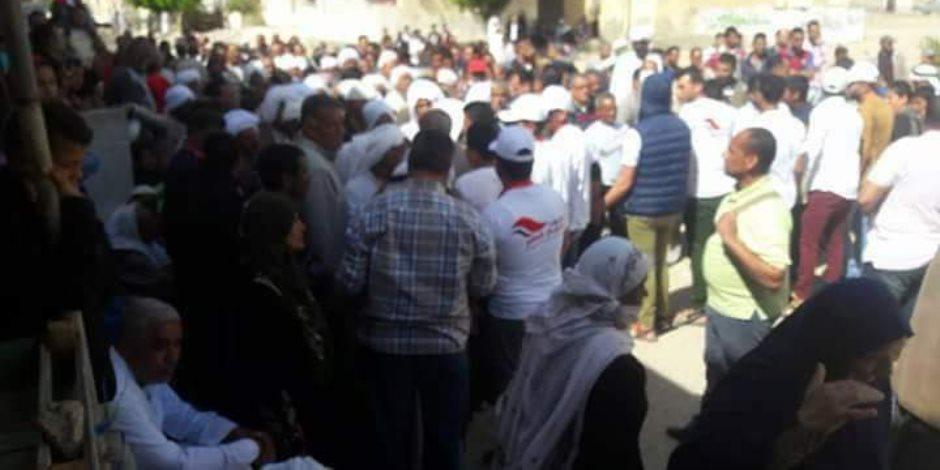 30 صورة ترصد تزايد إقبال المصريين على لجان الانتخابات في الساعات الأخيرة