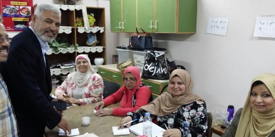 جمال عبد الحميد يدلي بصوته في الانتخابات الرئاسية (صور)
