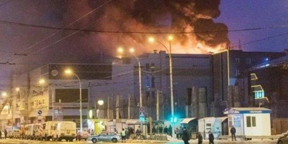 السيطرة على حريق بــ 30 فدانا بالمزرعة الخشبية في الكوامل