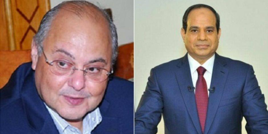 السيسي يشكر موسى مصطفى موسى: خاض معركة مشرفة