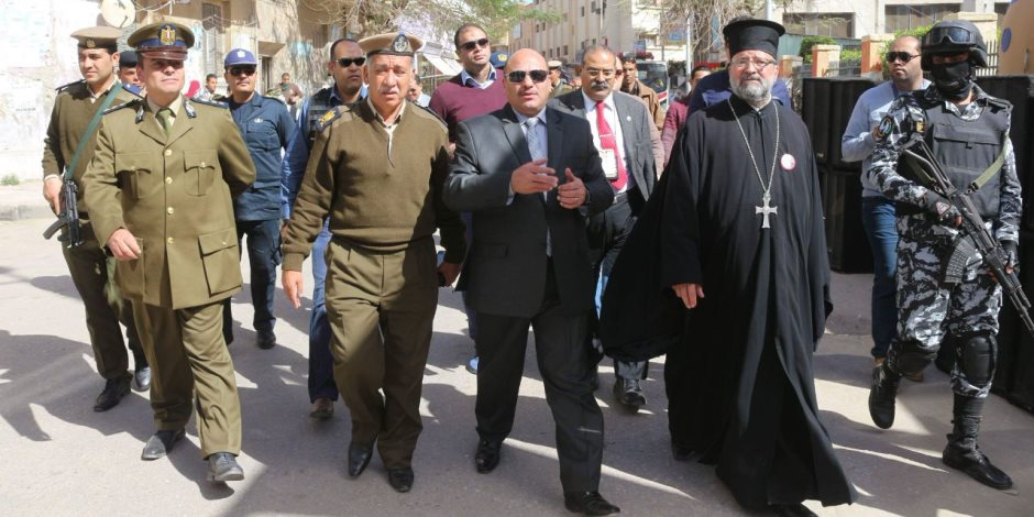 مديرو أمن المحافظات من لجان الانتخابات: لن نسمح بأي أخطاء (صور)