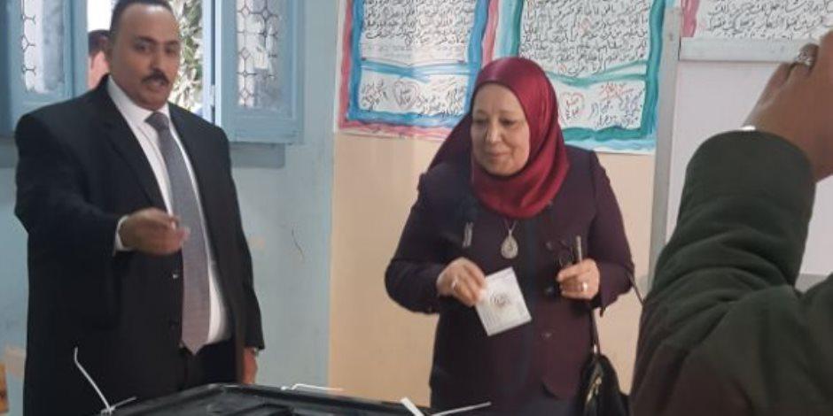 رئيس «النيابة الإدارية»: مشاركة الشعب في الانتخابات تقرير مصير (صور)