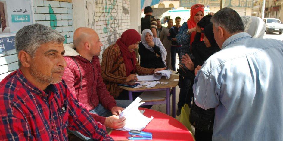 أهالي شمال سيناء يوجهون صفعة قوية للإرهاب ويواصلون التدفق على الانتخابات (صور)
