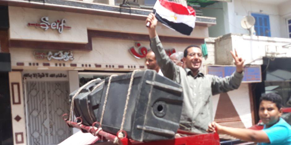 «دعم مصر»: تزايد الإقبال في مركز ناصر ببني سويف