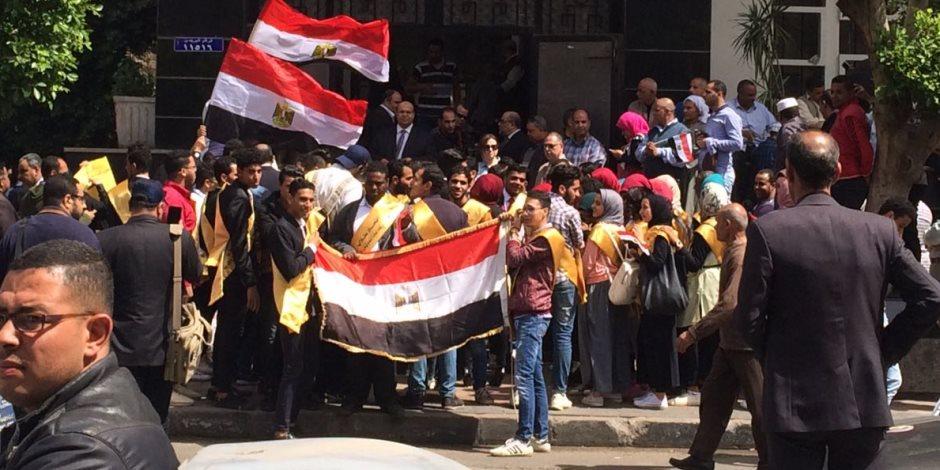 مرصد ائتلاف دعم مصر: تواصل إقبال الناخبين على لجان مرسى مطروح