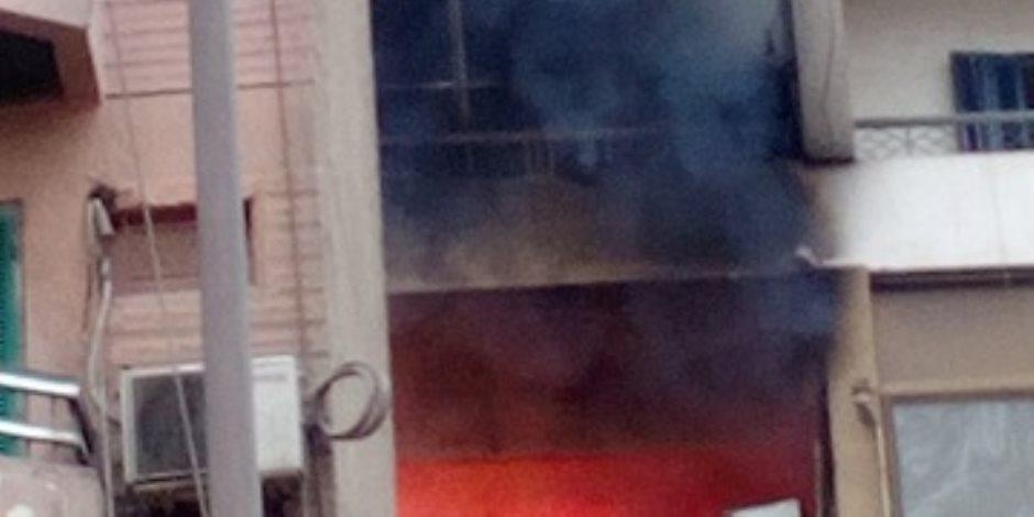 إصابة 4 أشخاص في حريق منزل بالمرج