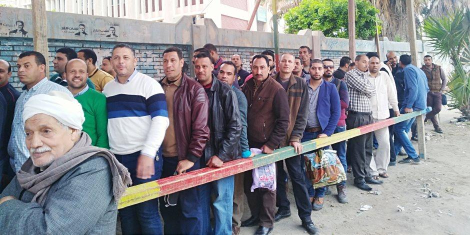 مرصد ائتلاف دعم مصر: تزايد أعداد الناخبين بلجان البحر الأحمر