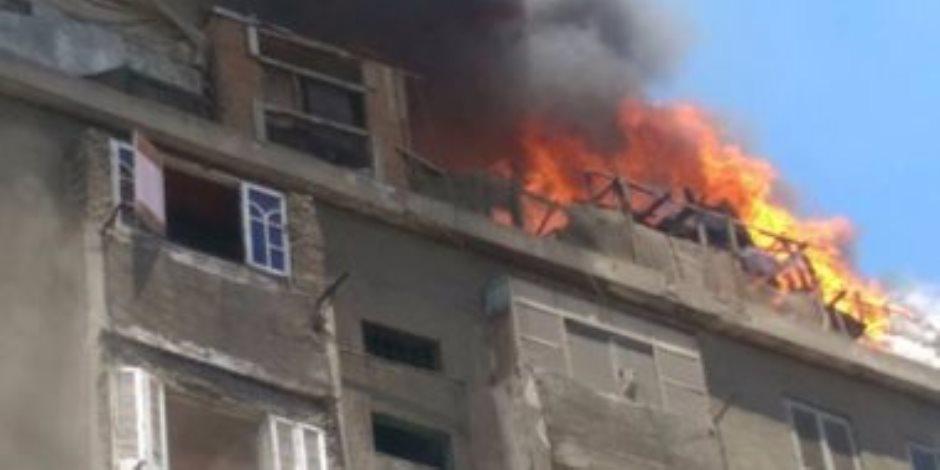 حريق بـ 10 بمنازل وزراعات وأشجار بمحافظة قنا بسبب سوء الأحوال الجوية