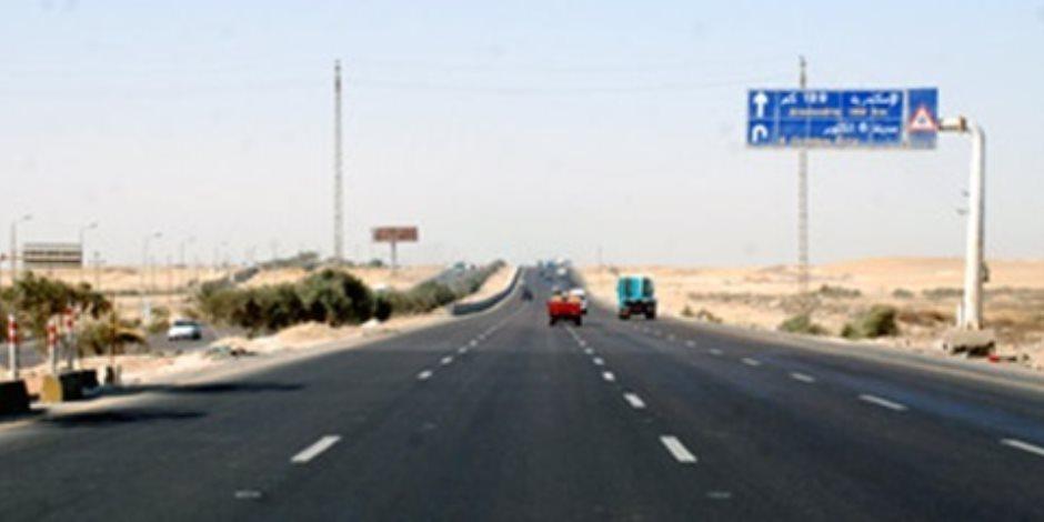 إغلاق جزئي لطريق «القاهرة-الإسكندرية» الصحراوي للصيانة