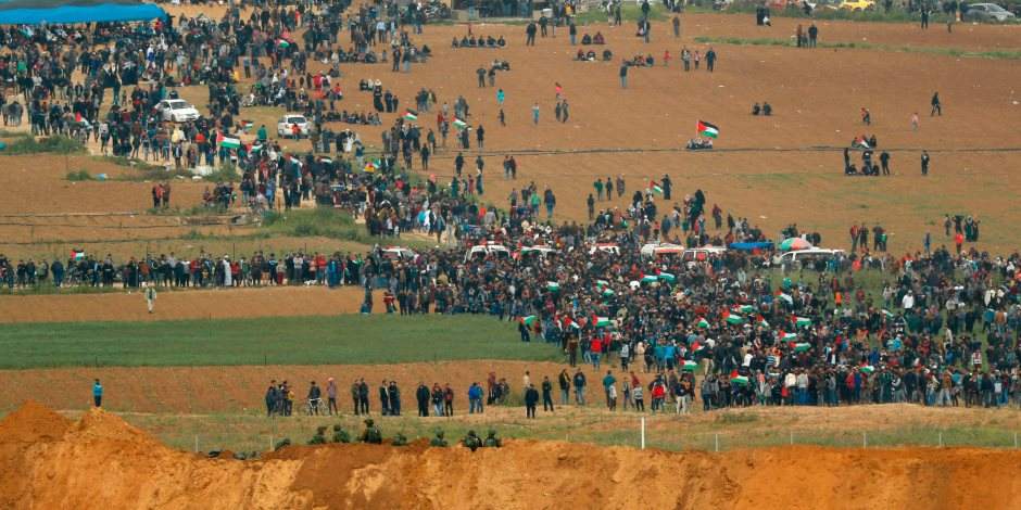 «الوطنية لمسيرات العودة» تطالب العرب بمساندة الفلسطينيين في غزة ضد الاحتلال