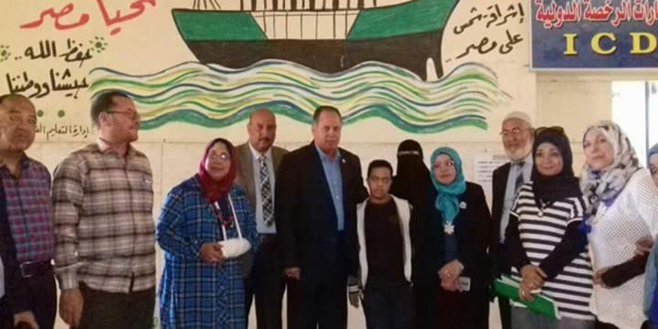 تعليم شمال سيناء تحتفل باليوم العالمي للتوحد (صور)