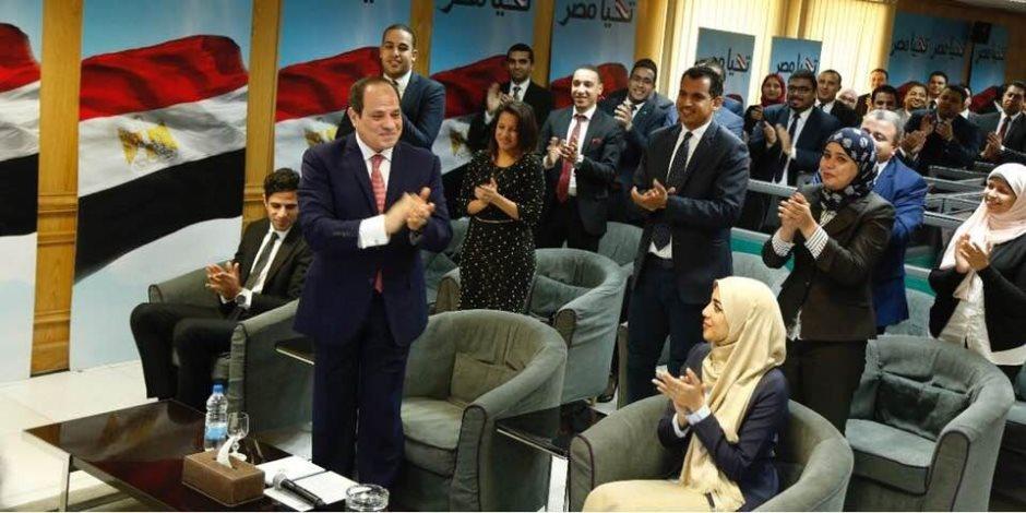أول رد فعل للرئيس عبد الفتاح السيسي على نتيجة الانتخابات الرئاسية (صور)
