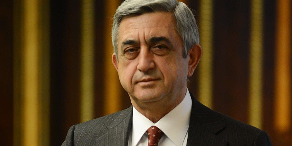رئيس أرمينيا: نتمني صحة وسلاما ونشاطا مثمرا للرئيس عبد الفتاح السيسي
