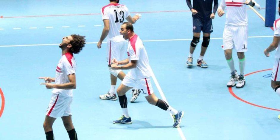 طائرة الزمالك تواجه سبورتنج فى ربع نهائي كأس مصر