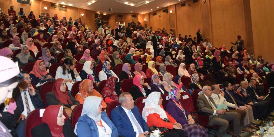 افتتاح المؤتمر الدولي الرابع لكلية التمريض بجامعة المنصورة (صور )