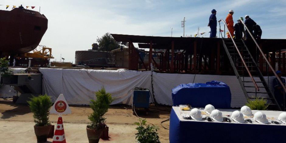 """ميناء الإسكندرية يستعد لتدشين قاطرتي """"تحيا مصر"""" (صور)"""