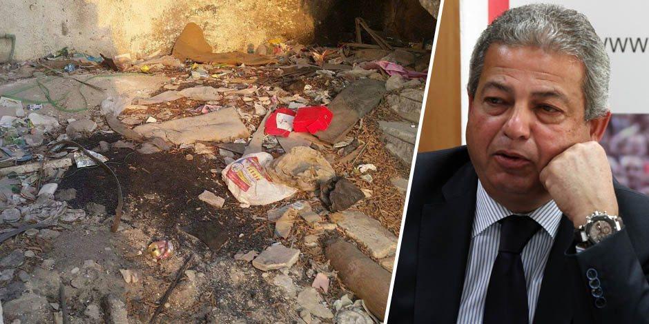 أين الوزير الغائب؟.. صور من داخل «الخرابة» مركز شباب الإسماعيلية سابقا