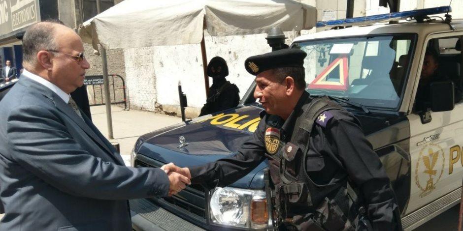 استنفار أمني بمحيط كنائس العاصمة.. ومدير الأمن يراجع الإجراءات (صور)