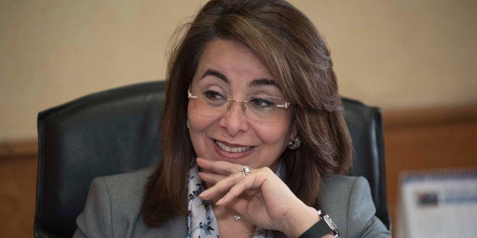 وزيرة التضامن الاجتماعي تشارك في الاحتفال بمشروع «ممر النور» لذوي «الاحتياجات البصرية»