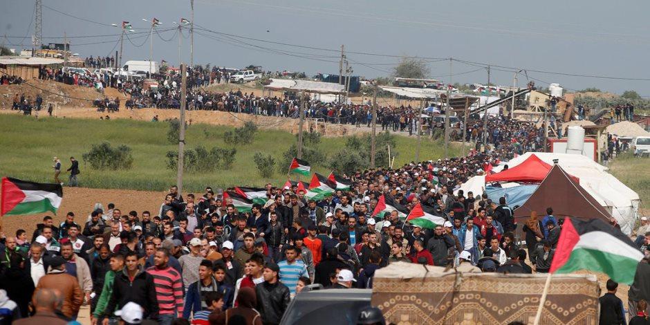 إطلاق قذيفة من قطاع غزة تجاه إسرائيل