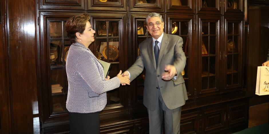 وزير الكهرباء: نعمل على فتح وتأمين أطر الاستثمار في مجالات الطاقة بمصر