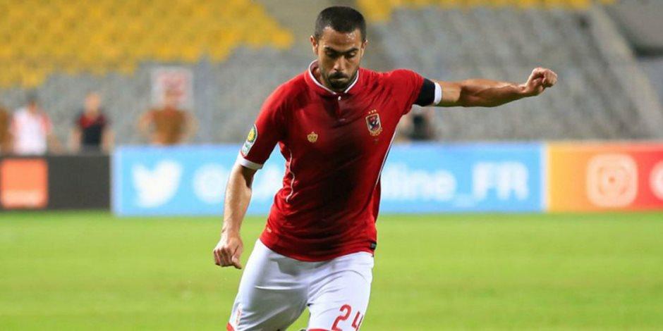 أحمد فتحى يغيب عن الأهلى أمام المصرى