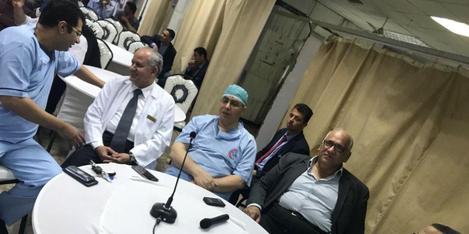 «طوارئ جامعة المنصورة» تستضيف خبير ألماني لإجراء 20 جراحة مستعصية بالأوعية الدموية