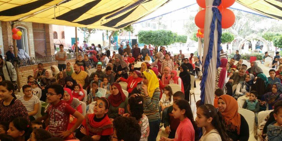 «رسم ولعب وعروض ترفيهية».. الأطفال يحتفلون بشم النسيم في الغربية (صور)