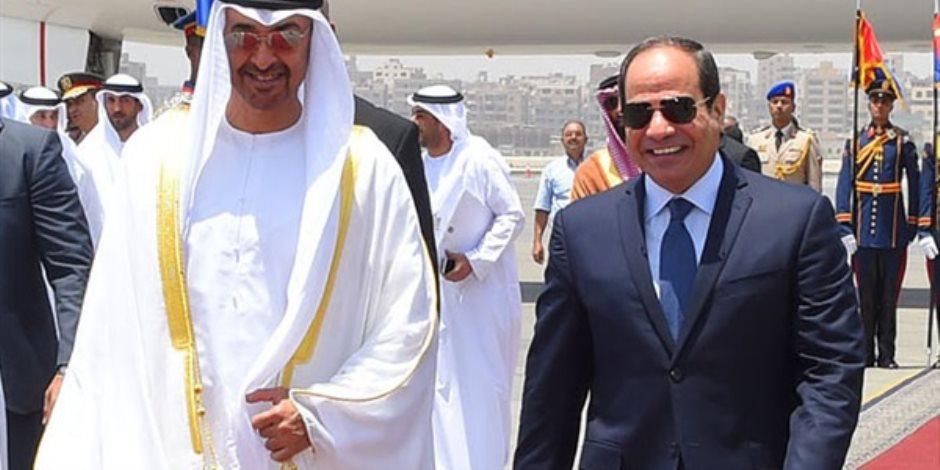 في زيارة تستغرق يومين.. السيسي يستقبل ولي عهد أبو ظبي اليوم