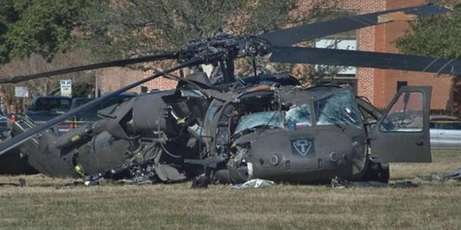 السلطات السعودية تحقق في حادث تحطم طائرة هليكوبتر