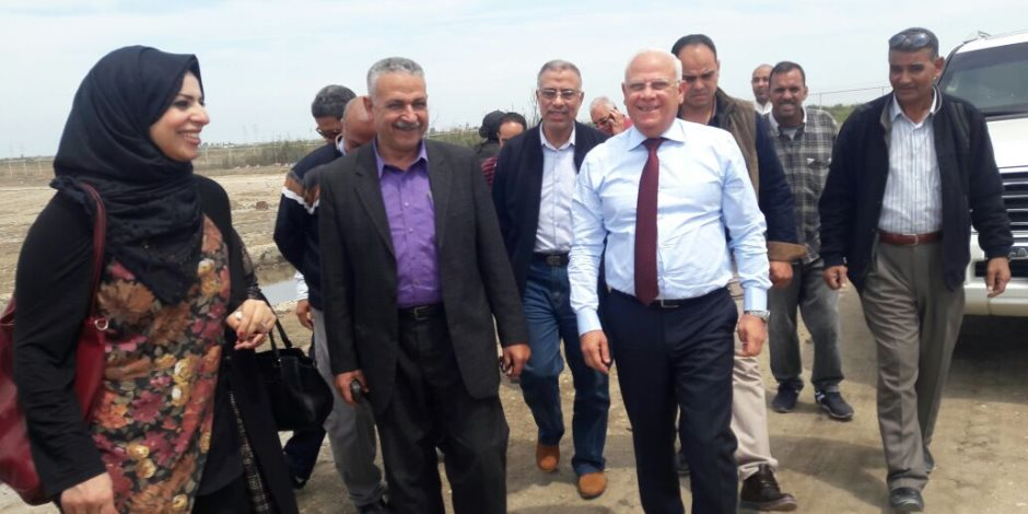 محافظ بورسعيد: إنشاء محرقة جديدة بالمدفن الصحى فى الجنوب (صور)