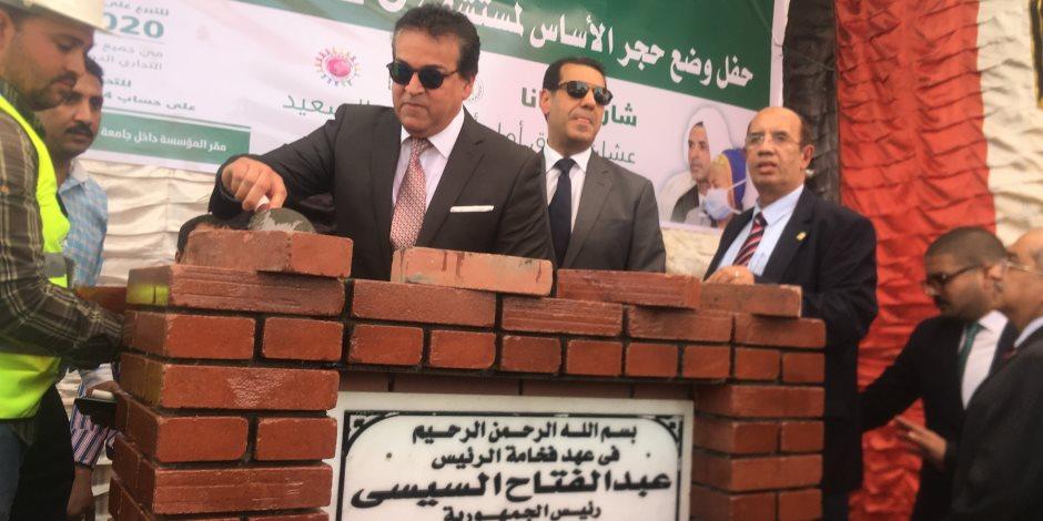 خالد عبدالغفار: الشباب أمل النهوض بالدولة.. و محافظ أسيوط يدعو المجتمع المدني للتبرع لصالح مستشفي 2020 (صور)