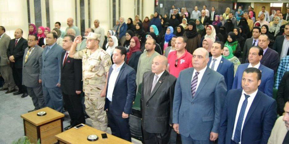 في حفل يوم اليتيم.. محافظ الغربية: الدولة المصرية تقف بجانب أبنائها (صور)