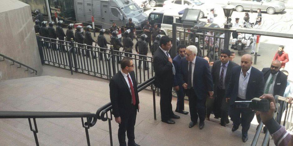 مرتضى منصور في مجلس الدولة لحضور نظر دعوى الزمالك ضد وزير الرياضة