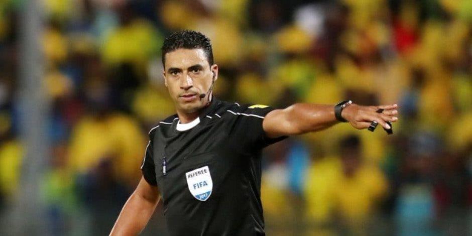 طاقم تحكيم مباراة المصري ومونانا يؤدي مرانًا بدنيًا استعدادًا للقاء