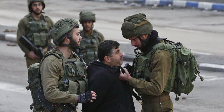 الإحتلال الإسرائيلى يعتقل فلسطينبين اثنين تسللا لمستوطنة بجنوب نابلس