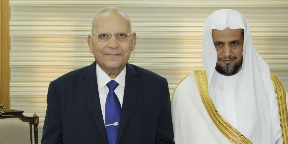 النائب العام السعودي في ضيافة وزير العدل (صور)