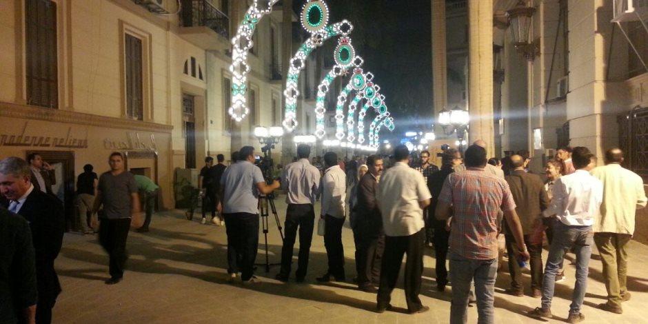 محافظة القاهرة: تكلفة تطوير شارع الشريفين 12 مليون جنيه (صور)