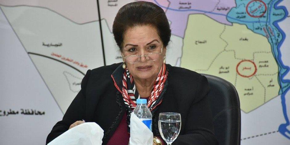 غدا.. نادية عبده تستقبل السفير الإندونيسي بالبحيرة