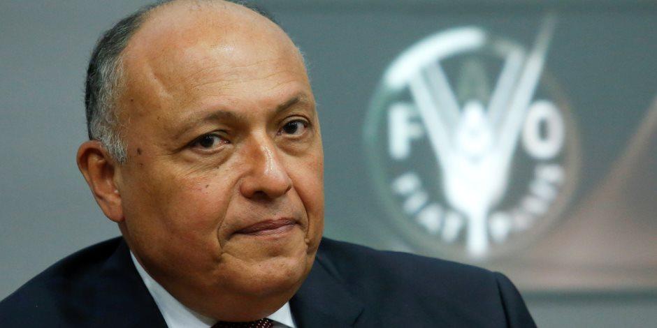 وزير الخارجية يهنئ الإمام الأكبر بذكرى تأسيس الجامع الأزهر