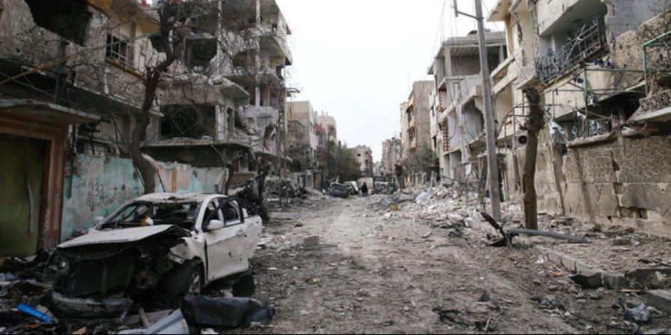 استشهاد مدنيين وإصابة 19 آخرين جراء اعتداء إرهابي بدمشق