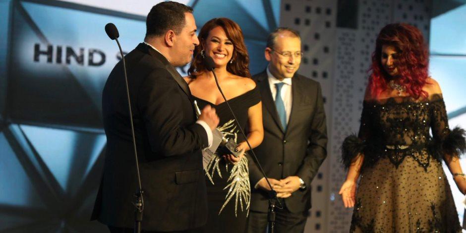 هند صبري تفوز بأفضل ممثلة عربية بالدراما المصرية بـالـ«موريكس دور»