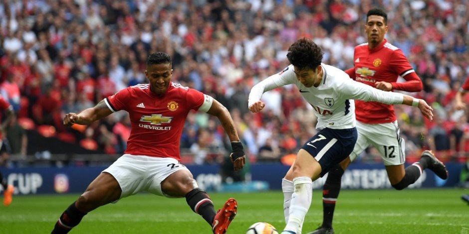 مانشستر يونايتد يقصي توتنهام ويتأهل لنهائي كأس الاتحاد الإنجليزى (فيديو وصور)