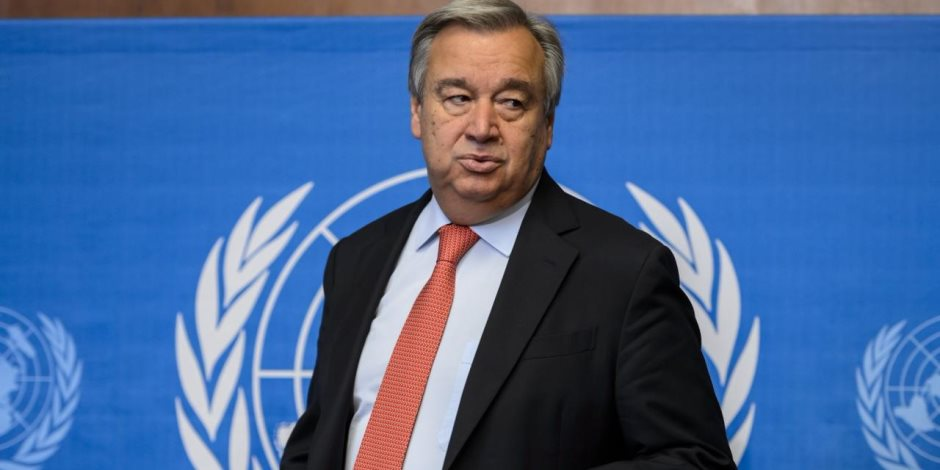 الأمين العام للأمم المتحدة: الحل فى سوريا ليس عسكريا وإنما سياسى فقط
